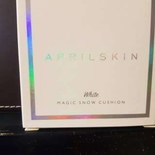 Brand New Aprilskin Foundation Magic Snow Cushion