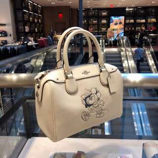 代購美國 COACH 迪士尼米奇限量女裝手袋