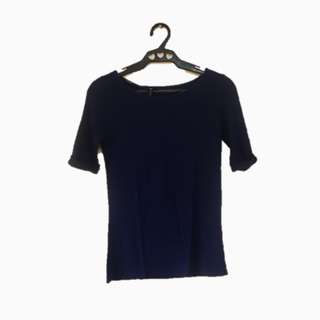 Repriced! Cotton On Navy Blue Top
