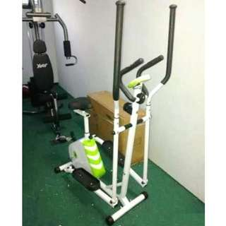 Elliptical Bike Exercise Bike Cross Trainer Sepeda Fitness Pembakar Kalori