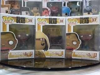 Michonne & Pets Funko Pop