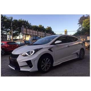 2014 Hyundai Elantra 1.8 白 FB收尋:小馬愛車