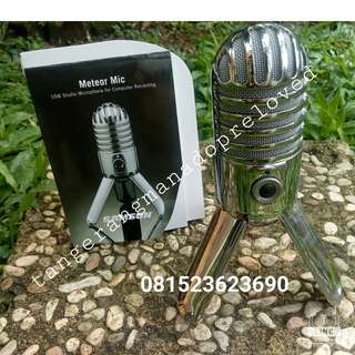 Microfon Samson Second 650rb NEGO.. Yang pny perempuan
