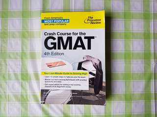 Crash Course for the GMAT 4th Ed (Bundle price available)