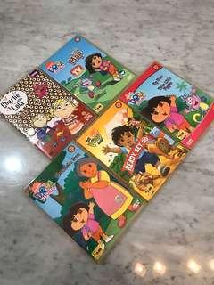 Dora & Charlie and Lola dvd