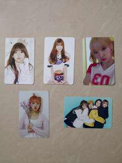 WJSN official photocard