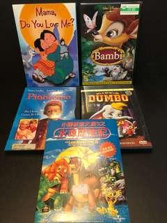 Cartoon Series (Disney, Universal, Innokidz)