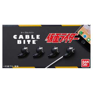 Cable bite for iPhone  仮面ライダー 假面騎士 幪面超人 戦闘員 日本直送 正品