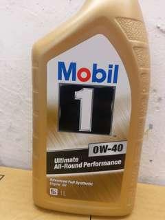Mobil 1 0w-40偈油