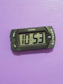 ⚘Hoseki⚘H-2205 LCD car clock with light.