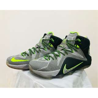 save off 2159a 286c1 Nike Lebron 12 Instinct DunkMan Basketball Shoes