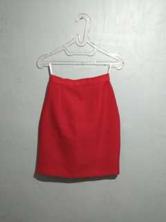 Preloved Red Skirt