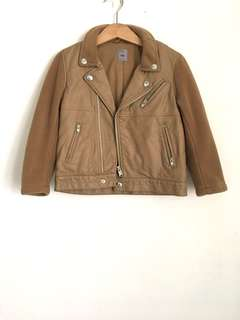 Uniqlo x Undercover Kids Brown Biker Jacket