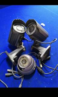 CCTV Camera for sale from $15-$30 Each