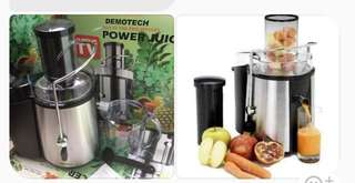 Brand new juicer & slicer