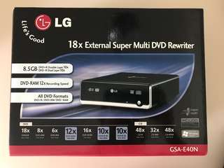LG DVD rewriter