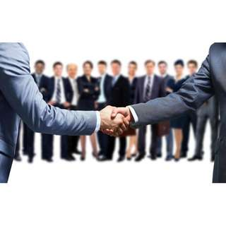 Business partnership partner opportunity