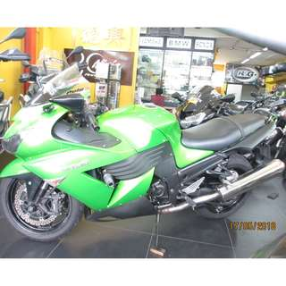 Kawasaki ZZR 1400 With 9+ COE 2027 $14K  D/P $1500 or $500 Without Insurance  (Terms and conditions apply. Pls call 67468582 De Xing Motor Pte Ltd Blk 3006 Ubi Road 1 #01-356 S 408700.
