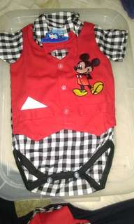 Baby romper with pant