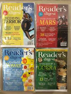 Reader's digest May-Aug 2016