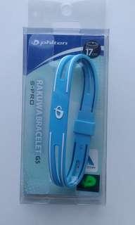 Phiten Rakuwa Bracelet 17cm-GS