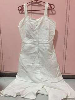 White Summer Long Dress