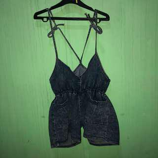 Overall jeans (jumpsuit denim)