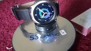 Jam tangan mewah S3 clasick samsung