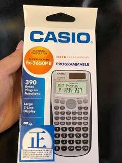 (全新) Casio DSE 計數機 fx-3650II