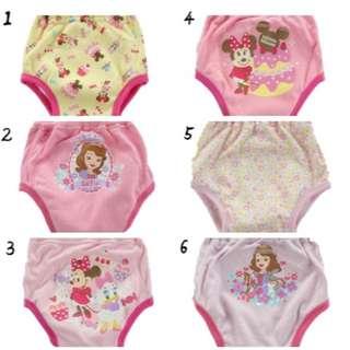 🚚 寶寶防水三層學習褲環保吸水尿布 【全新】