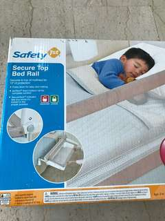 Bed rail for baby