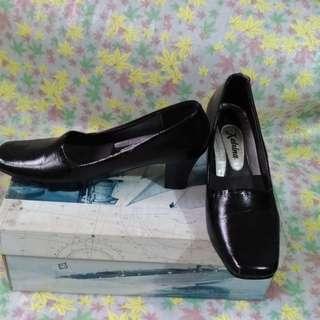 Katrina Black Office or School Shoes