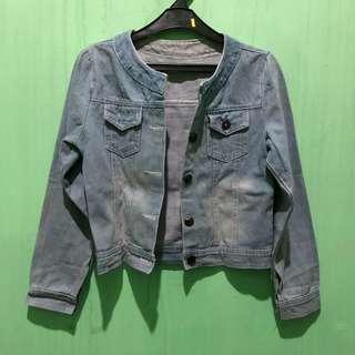 Jaket jeans (denim jacket)