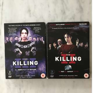 The Killing Complete Season 2 and 3 (6 discs)