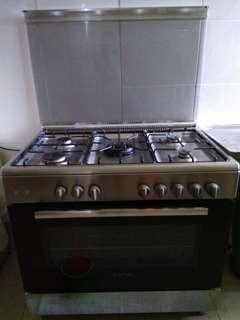#EG20 Bosch 5 burner Gas stove oven