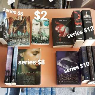 Twilight and fiction books