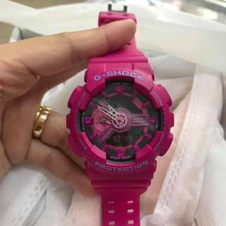 GSHOCK PINK WATCH