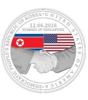 🚚 Trump kim summit coin