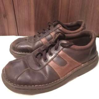 Skechers Brown Leather Men's Shoes Size 10US pre-loved