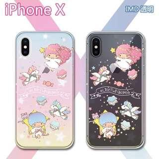 Little twins star 手機壳/mon 貼iPhone 7-iPhone X