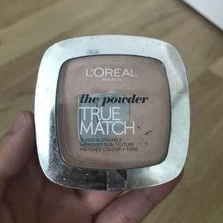 L'oreal the powder true match rose beige