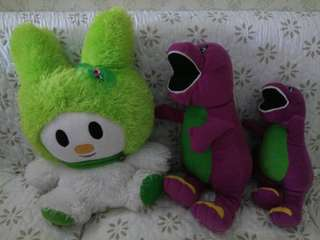Take all Boneka melody dan barney