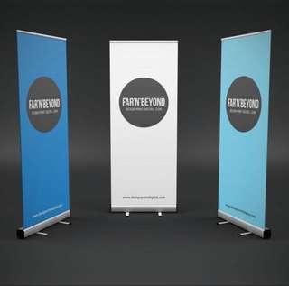 Printing of Roll Up Banner Stands