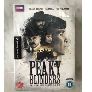 Peaky blinders compete Seasons 1-3 brand new seals box