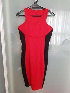 Divalicious Red Bodycon Dress