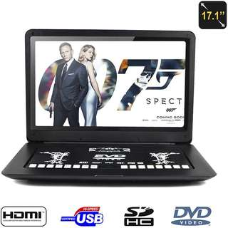 "17"" Portable DVD Player"