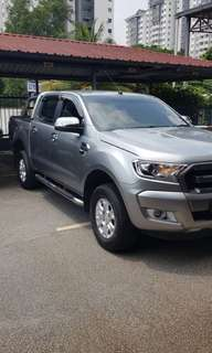 SAMBUNG BAYAR/CONTINUE LOAN  FORD RANGER 2.2 AUTO  YEAR 2016 MONTHLY RM 1500 BALANCE 5 YEARS ROADTAX AUGUST 2018 TIPTOP CONDITION  DP KLIK wasap.my/60133524312/ranger
