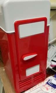 USB  迷你凍雪櫃 八成新