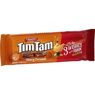 Arnott's Tim Tam Chewy Caramel 175g