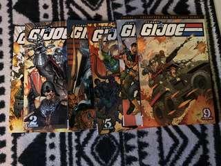 G.I. Joe Classic Comic TPB   1, 2, 3, 5, 6, 9 Gi joe